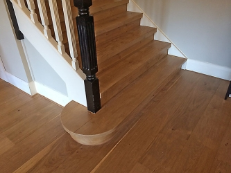 Stairs over concrete or existing timber treads - 008