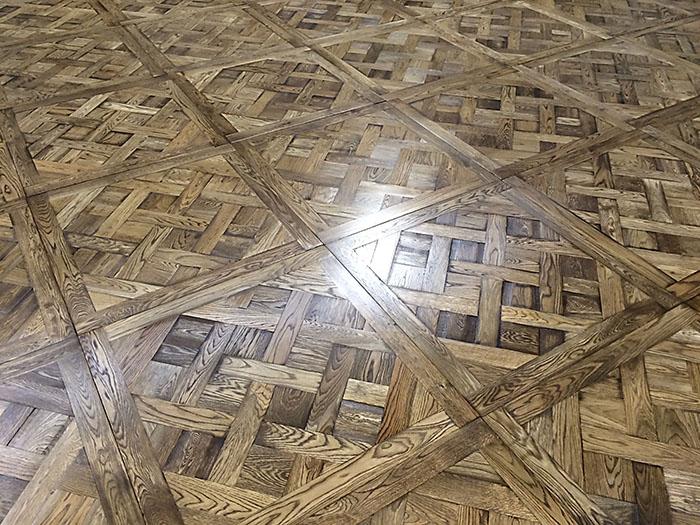 Versailles panels 866x866x19 European Oak - 002