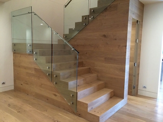 Stairs over concrete or existing timber treads - 018