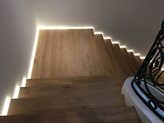 Stairs with side lights - 005